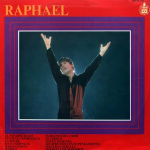 portada del disco Raphael