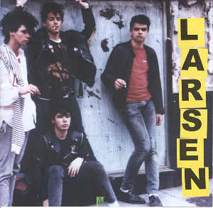portada del disco Larsen