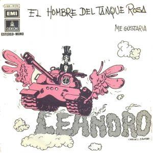 portada del disco El Hombre del Tanque Rosa