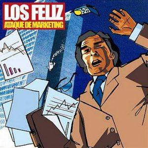 portada del disco Ataque de Marketing