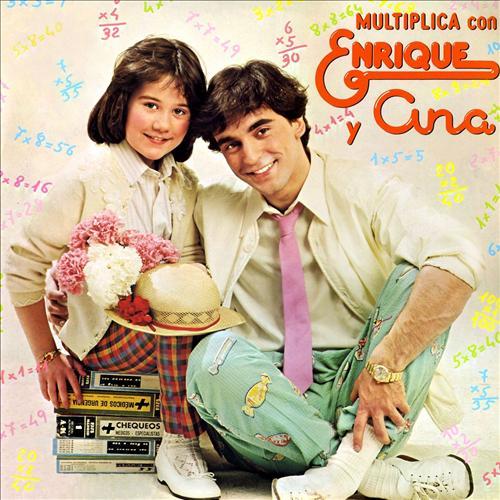 portada del disco Multiplica con Enrique y Ana