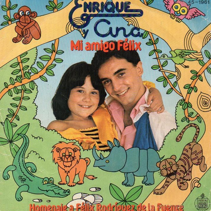 portada del disco Mi Amigo Félix