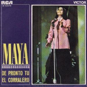 portada del disco De Pronto Tú / El Corralero