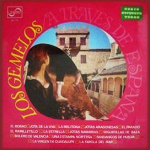 portada del disco A Través de España