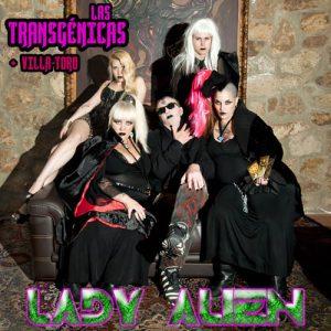 portada del disco Lady Alien