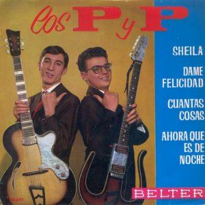 portada del disco Sheila / Dame Felicidad / Cuantas Cosas / Ahora que Es de Noche