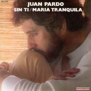 portada del disco Sin Ti / María Tranquila