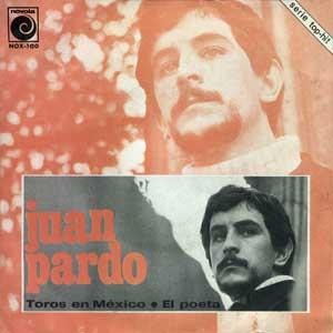 portada del disco Toros en México / El Poeta