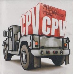 portada del disco Lo Más Bruto de CPV