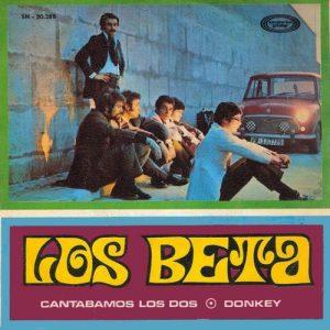 portada del disco Cantábamos los Dos / Donkey