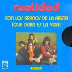 portada del disco Con los Granos de la Arena / ¡Qué Dura es la Vida!