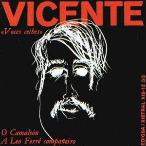 portada del disco O Camaleón / A Leo Ferré Compañeiro
