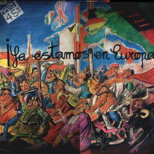 portada del disco ¡Ya Estamos En Europa!