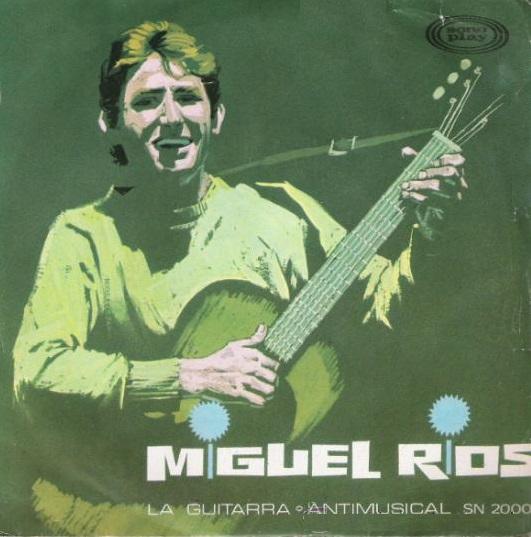 portada del disco La Guitarra / Antimusical