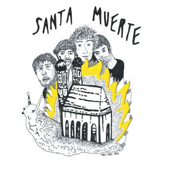 portada del disco Santa Muerte