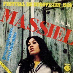 portada del disco Festival de Eurovisión 1968