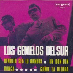 portada del disco Bendito Sea Tu Nombre / Un Don Din / Nunca / Como la Hiedra
