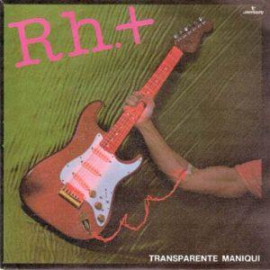 portada del disco Transparente Maniquí
