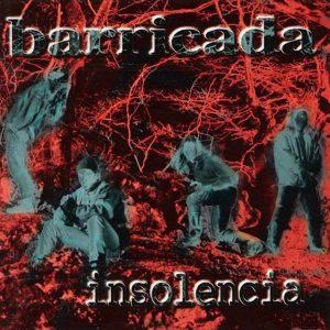 portada del disco Insolencia