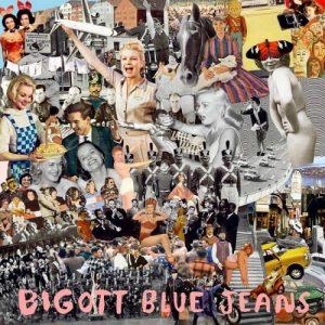 portada del disco Blue Jeans