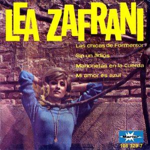 portada del disco Las Chicas de Formentor / Sin un Adiós / Marionetas en la Cuerda / Mi Amor Es Azul