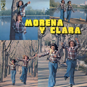 portada del disco Morena y Clara
