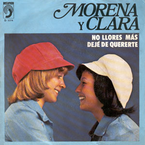 portada del disco No Llores Más / Dejé de Quererte