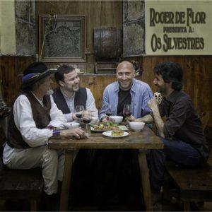 portada del disco Roger de Flor Presenta a: Os Silvestres