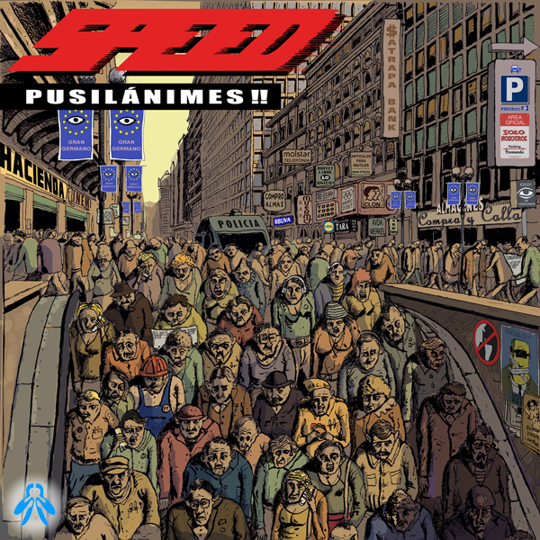 portada del disco Pusilánimes