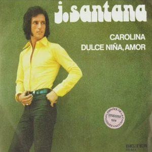 portada del disco Carolina / Dulce Niña, Amor