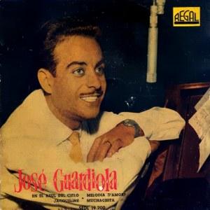 portada del disco En el Azul del Cielo / Jacqueline / Melodía d' Amore / Muchachita