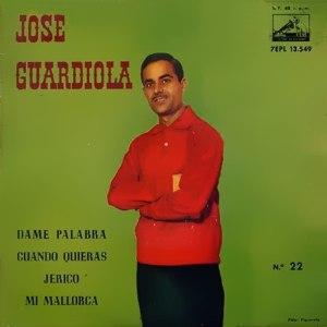 portada del disco Dame Palabra / Cuando Quieras / Jericó / Mi Mallorca