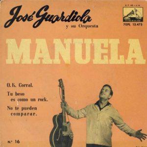 portada del disco Manuela