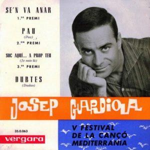 portada del disco V Festival de la Cançó Mediterrania