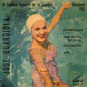 portada del disco III Festival Español de la Canción