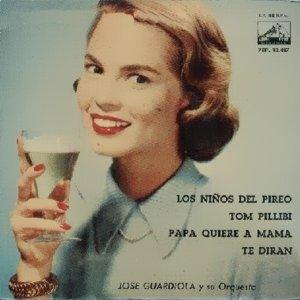 portada del disco Los Niños del Pireo / Tom Pillibi / Papá Quiere a Mamá / Te Dirán