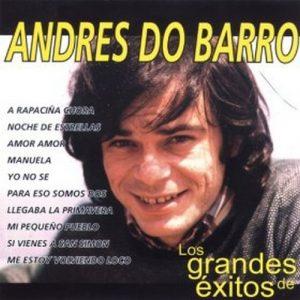 portada del disco Los Grandes Éxitos de Andrés do Barro