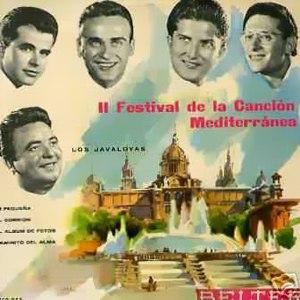 portada del disco II Festival de la Canción Mediterránea