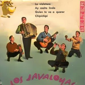 portada del disco La Violetera / Ay, Cosita Linda / ¿Quién Te Va a Querer? / El Chipi Chipi
