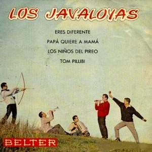 portada del disco Eres Diferente / Papá Quiere a Mamá / Tom Pillibi / Los Niños del Pireo
