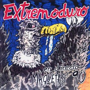 portada del disco Extremoduro en Directo – Maquetas del '90