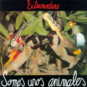 portada del disco Somos Unos Animales