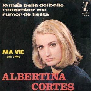 portada del disco Ma Vie