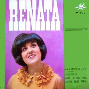 portada del disco La Danza de Zorba / Siluetas / Me lo Dijo Pérez / Pepe Será Papá
