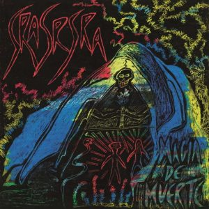 portada del disco Magia de Muerte