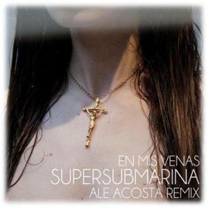 portada del disco En Mis Venas Ale Acosta Remix