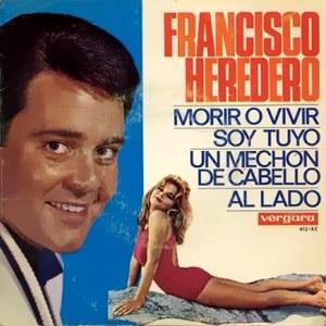 portada del disco Morir o Vivir / Soy Tuyo / Un Mechón de Cabello / Al Lado