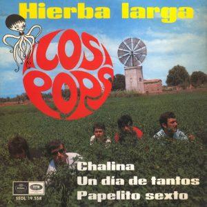 portada del disco Hierba Larga