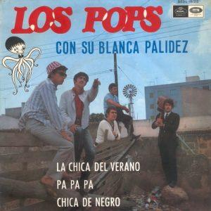 portada del disco Con Su Blanca Palidez
