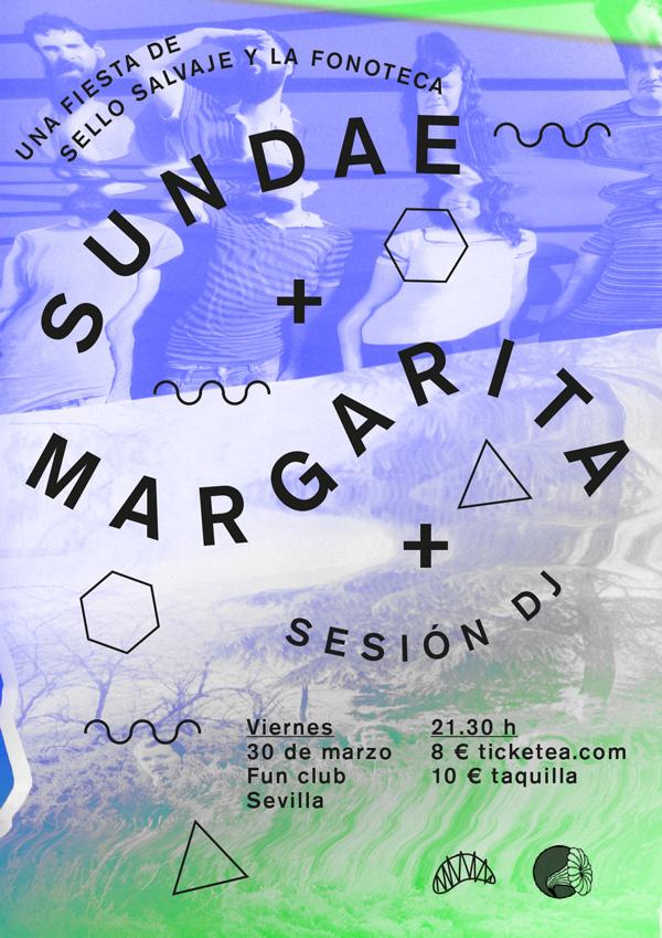 portada del evento SUNDAE Y MARGARITA EN EL FUN CLUB DE SEVILLA